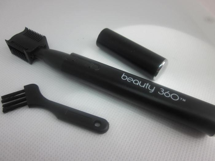 eye brow trimmer